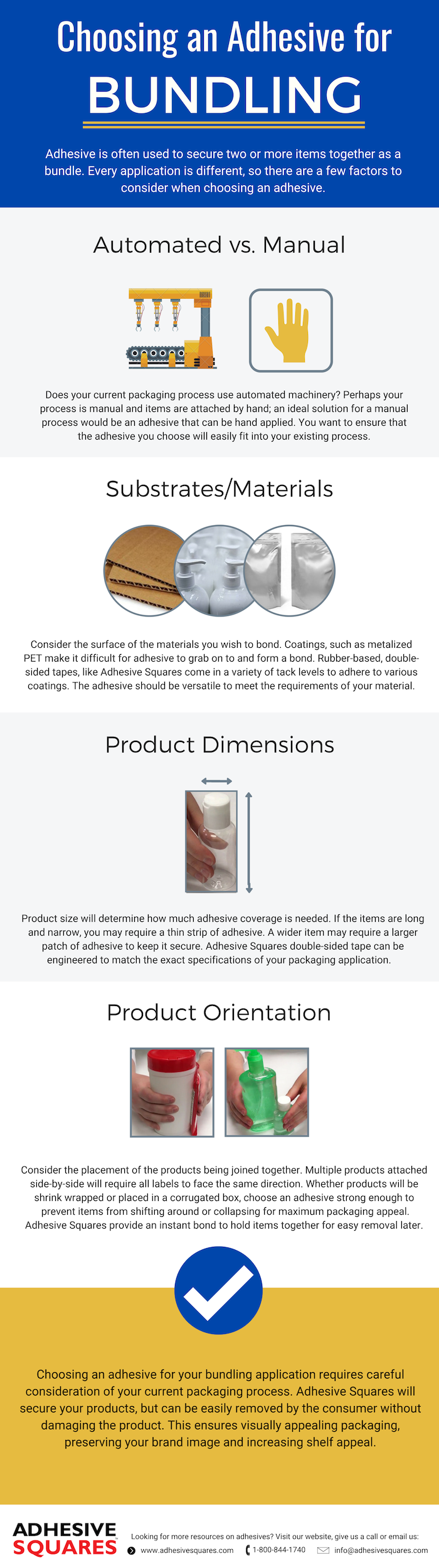 How to Choose an Adhesive: Multi-Pack Solutions