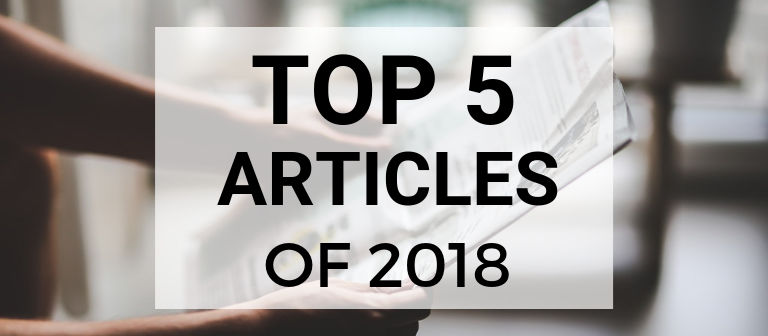 The Best of 2018: Top 5 Articles at Adhesive Squares