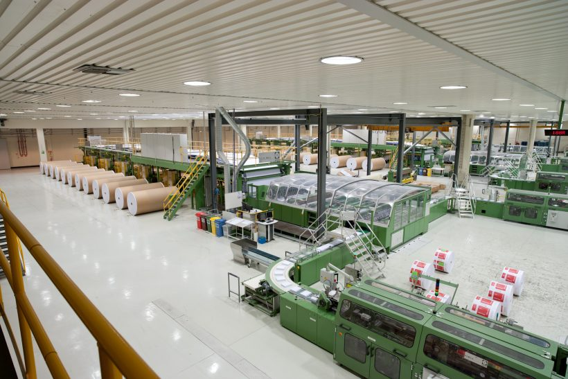 Double-Sided Tape Offers Co-Packers Versatility