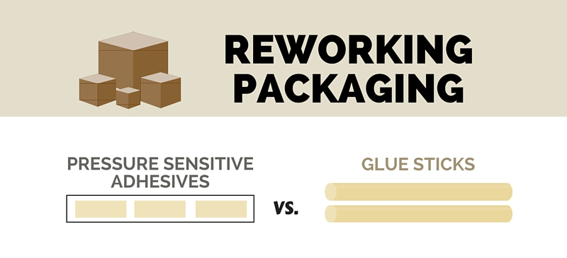 Reworking Packaging: Double-Sided Tape vs. Glue Sticks