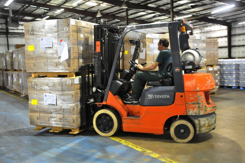 How Double-Sided Tape Can Help Stabilize Pallet Loads