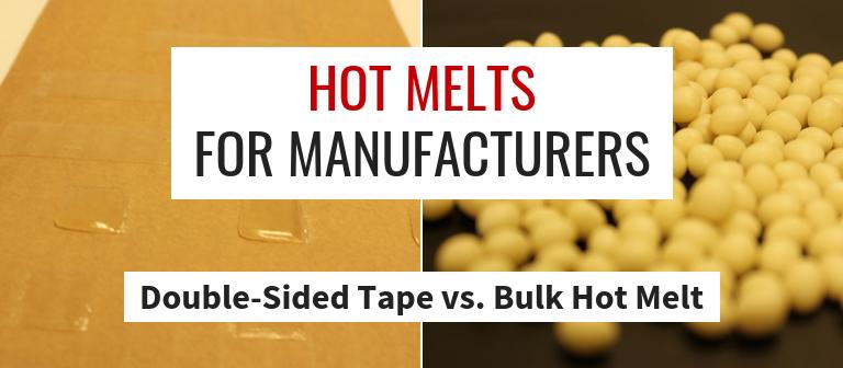 Liquid Hot Melt Adhesives vs. Double-Sided Tape