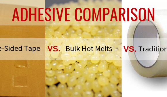 Adhesive Comparison: Double-Sided Tape vs. Bulk Hot Melts vs. Traditional Tape