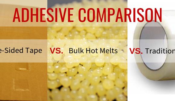 Adhesive Comparison: Double-Sided Tape vs. Bulk Hot Melts vs. Traditional Tape